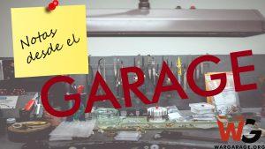 Notas desde el Garage