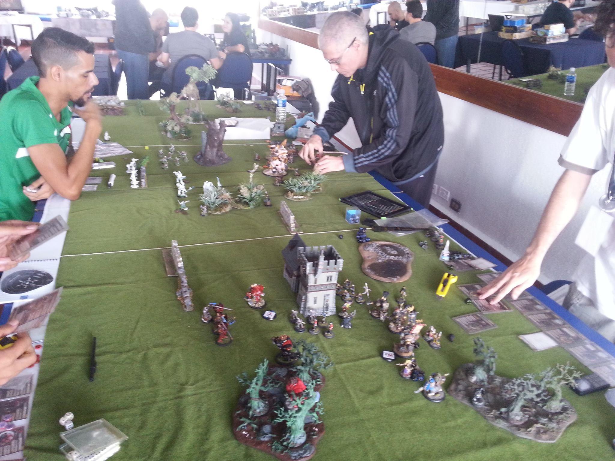 Torneo de Warmachine en el 1er Encuentro Wargarage.org